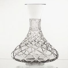 In our Feature Video you will see this amazing Decanter displayed.  Excellent for use as a table wine server!   Florentine Diamond Cut Crystal Liquor Decanter – Gifts by Kasia