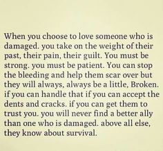 When you choose to love someone who damaged.it will be love from one side. Good Thoughts, Positive Thoughts, Quotes Positive, Damaged Quotes, Broken Girl Quotes, When You Love, Love Yourself Quotes, Instagram Quotes, Loving Someone