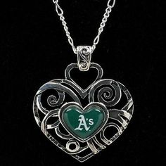 Oakland Athletics Ladies Ivy Pendant Necklace