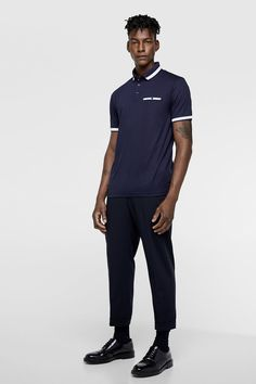 Image 1 of POLO SHIRT WITH POCKET from Zara Polo Shirts With Pockets, Zara, Gifts For Dad, Sporty, Image, Style, Fashion, Pockets, Dad Gifts