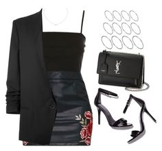 """Sin título #13398"" by vany-alvarado ❤ liked on Polyvore featuring Topshop, Helmut Lang, Cartier, Yves Saint Laurent and ASOS"