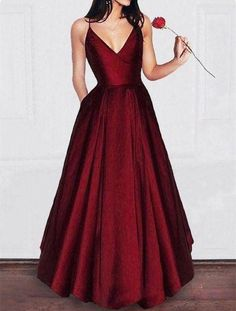 Elegant A Line Dark Red Satin Prom dress Girls Graduation Gown 2019 Party Dress Amazing Elegant A Line Satin Prom dress Girls Graduation Gown 2018 Party DressAmazing Elegant A Line Satin Prom dress Girls Graduation Gown 2018 Party Dress Evening Dresses With Sleeves, V Neck Prom Dresses, Short Dresses, Girls Dresses, Formal Dresses, Dress Prom, Party Dresses, Dress Hire, Sleeveless Dresses