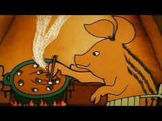 Hungarian Folk Tales: The Piglet And The Wolves Wolf Call, Film Studio, Folk Music, Scooby Doo, Storytelling, Art Decor, Disney Characters, Fictional Characters, Animation
