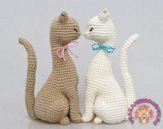 Мастер-класс:Милые котики - Игрушки крючком