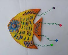 Dream Painters: Clay Funky Fish: Matilda B (Year 2)