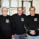 Bob Bremer, Tim Tackett and Jim Sewell - my Jeet Kune Do lineage.   (Jeet Kune Do is a martial arts developed by the late Bruce Lee)