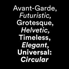 LL Circular | http://lineto.com/The+Fonts/Latest+Releases/Circular/