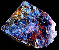 Pietersite - This is a spectacular piece! Cool Rocks, Beautiful Rocks, Minerals And Gemstones, Rocks And Minerals, Rock Collection, Mineral Stone, Rocks And Gems, Stones And Crystals, Gem Stones