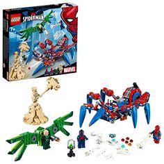 Lego Super Heroes Marvel Spider-Man& Spider Crawler 76114 I this guy doing . Marvel Avengers, Captain Marvel, Marvel Comics, Legos, Iron Man, Construction Lego, Best Lego Sets, Spiderman Spider, Lego Spiderman Sets