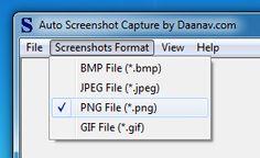 Automatic Screenshot Capture Software