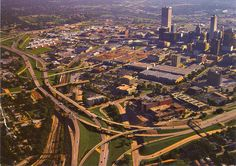 Tulsa, Oklahoma: Downtown.. Love it from a sky view