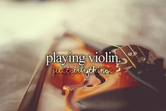 I love playing. It puts me at ease.