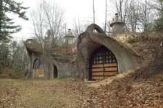THE 50 STRANGEST ABANDONED PLACES BY STATE 49. Wisconsin - Door County Mushroom House Yeah... not so sure about the story behind this one, but it looks like is should be in the shire rather than in the Wisconsin countryside. Regardless, it took quite a bit of ingenuity to make this house happen, so you have to respect that. Still though, this is pretty weird.