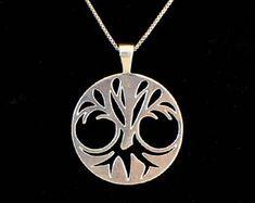 Tree of life Tree Necklace, Pendant Necklace, Tree Of Life, Pendants, Unique, Silver, Handmade, Etsy, Jewelry