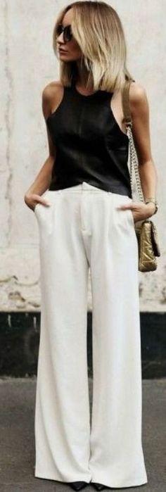 Wide leg pants   Carolina Toledo #wide