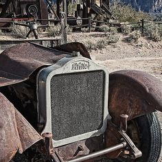 The White Heat Ghost - photograph by Lee Craig redbubble.com via @leeseesart #GhostTown #WhiteTrucks #RusticDecor #Abandoned