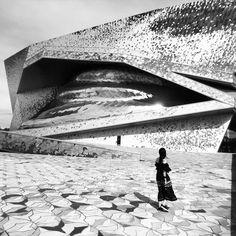 """59 Likes, 1 Comments - Daniel Fišer (@danielfiser) on Instagram: """"probably birds #jeannouvel #paris #architecture @ateliersjeannouvel"""""""