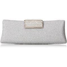 MG Collection Anabel Shimmering Evening Bag ($30) ❤ liked on Polyvore featuring bags, handbags, clutches, evening handbags, mini crossbody, prom clutches, crossbody handbags and mini pochette