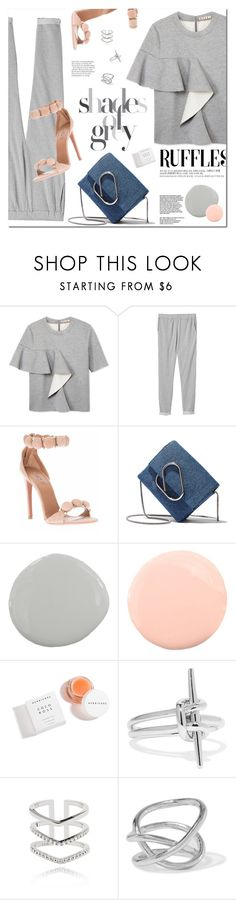 """""""Ruff"""" by fee4fashion ❤ liked on Polyvore featuring Marni, Monki, 3.1 Phillip Lim, Pure Home, Herbivore, Noir Jewelry, Astrid & Miyu and Jennifer Fisher"""
