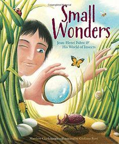 Small Wonders: Jean-Henri Fabre and His World of Insects: Matthew Clark Smith, Giuliano Ferri: 9781477826324: Amazon.com: Books