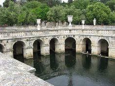 Fountain Gardens, Nimes, France