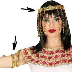Kit accessoire déguisement Égyptienne #bijouxdéguisements #accessoiresdéguisements #accessoiresphotocall