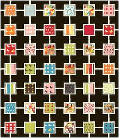 17 ideas for patchwork quilting designs charm pack Modern Quilt Patterns, Patchwork Patterns, Easy Patterns, Modern Quilting, Hexagon Patchwork, Patchwork Ideas, Charm Pack Quilts, Charm Quilt, Scrappy Quilts