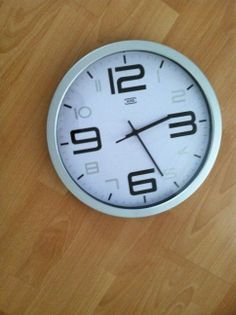 Clocks (3): 1 Euro each or all three for 2 Euros.  They run off batteries and they make a ticking sound.  We had them hanging together with the time zones of Dresden, and our families.