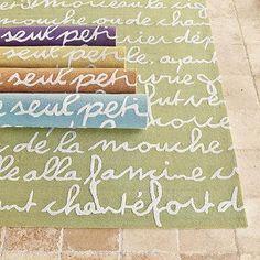 Le Poeme II Indoor/Outdoor Rug | European-Inspired Home Furnishings | Ballard Designs