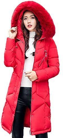 68ad1da610c Chic Rela Bota Women s Winter Down Parka Long Puffer Jacket Faux Fur Hood  Coat Overcoat online.   58.85  favoritetophits from top store