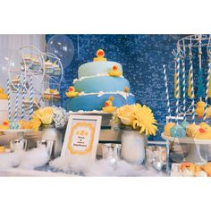 #rubberduckie#rubberducky#ducky#yellow#aquablue #blue#bubbleprint #bubble#bubbles #soap#soapduds#baby#nursery#babyshower#shower#bathtub#towels #candy#chevron#yellowchevron#fun#happy#cute#bathrobe#crates#props#aevents#aevent # #ferriswheel #carnival #roses#hydrangas#cakedisplay #candybuffet #fondant#cake #cakedisplay#pineapple