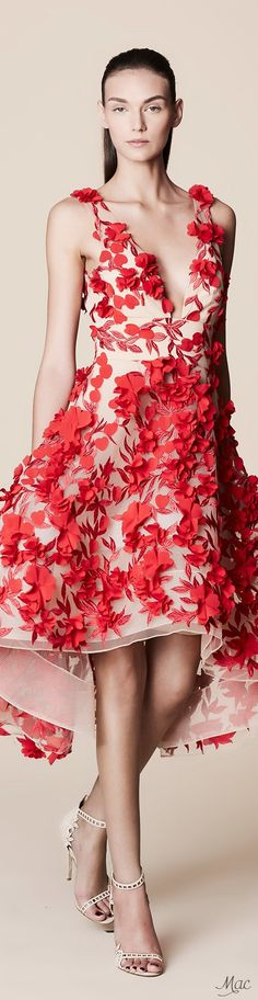 Spring 2017 Ready-to-Wear Marchesa Notte