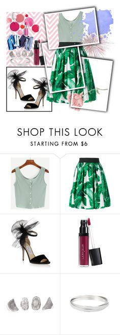 """Untitled #73"" by ernaa0 ❤ liked on Polyvore featuring Dolce&Gabbana, Jimmy Choo, Clinique and Laura Geller"