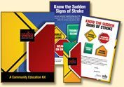Stroke Awareness and Toolkit Materials. Community Education Materials