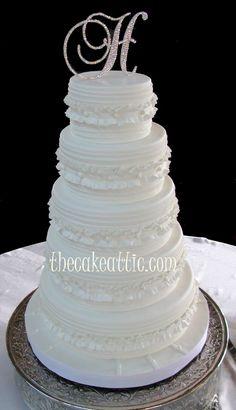 Fondant Ruffled Cake