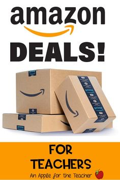 Are you looking for the best teacher deals on Amazon? An Apple for the Teacher Daily Deal Round-Up is your one stop shop for the latest and BEST deals on classroom supplies.  I search every day to find the products teachers us in the classroom at the lowest price.  My goal is to save you time and money, because we all know that you can never have enough of either!