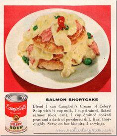Salmon ShortCake (1954) | Mid-Century Menu (Shortcakes and Pies BHG Aug 1954001)