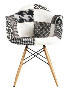 Eames Style DSW Black and White Patchwork Armchair Uphols... https://smile.amazon.com/dp/B00T56KTTW/ref=cm_sw_r_pi_dp_x_KdCwyb1XJB205