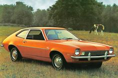 1971 Ford Pinto/a fun little car, had two friends that had them