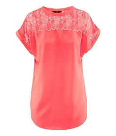 Hampm Blouse In Red Coral Lyst Coral Blouse
