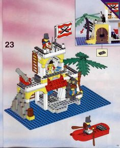 Pirates - Imperial Outpost  [Lego 6263]