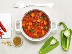 Chili con carne med svinekjøtt | Oppskrift - MatPrat Chana Masala, Stew, Salsa, Lunch, Snacks, Eat, Ethnic Recipes, Food, Inspirational