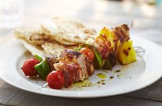 Marinate tender pork in soy, garlic & ginger to make tasty Korean skewers for your BBQ. Get all the BBQ recipe inspiration you need at Tesco Real Food. Pork Skewers, Kebabs, Pork Fillet, Tesco Real Food, Best Bbq, Serving Platters, Food Inspiration, Good Food, Tasty
