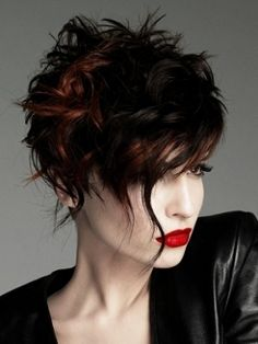 Asymmetric haircuts❤️Studió Parrucchieri Lory (Join us on our Facebook Page)  Via Cinzano 10, Torino, Italy.