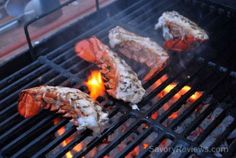 How to Split and Grill Lobster Tails - SavoryReviews