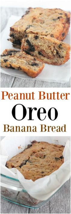 palate peanut butter oreo banana bread peanut butter oreo banana bread ...