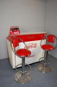 Coca Cola Kitchen Island Coke Chest Converted To Kitchen