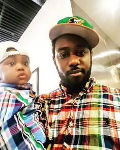"""From the @lifeofdad Instagram Feed:   """"My little mini-me."""" user @chefboyamyricle"""