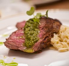 Cat Cora�s Basque Beef Tenderloin