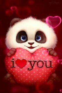 Panda I Love You Gif - Panda I Love You Gif love quotes gif i love you love images love gifs love pic love pic images love - Love Heart Images, I Love You Pictures, Beautiful Love Pictures, Cute Love Gif, Beautiful Gif, Love Pics, Funny Love Images, Sweet Love Images, I Love You Funny